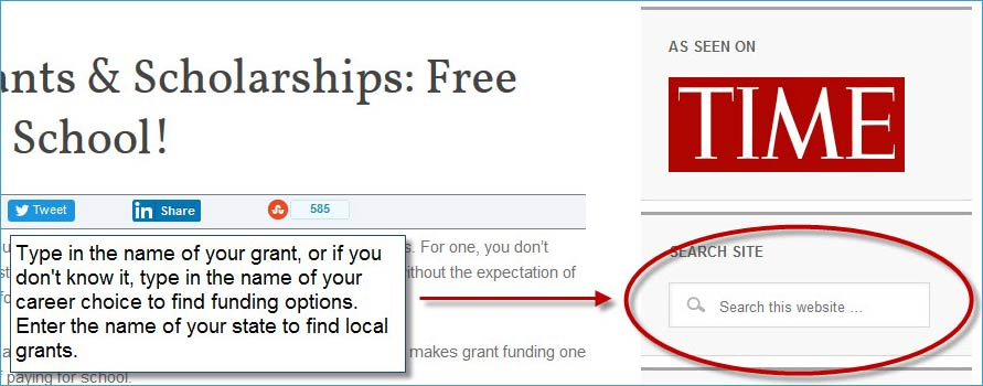 school grants and scholarships